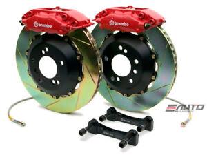 Brembo Rear GT Brake BBK 4piston Red 345x28 Slot BMW 525 528 530 540 M5 E39