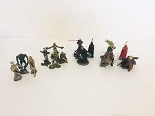 Lot of 14 ~  2005 - 07 Hasbro Star Wars Unleashed Battle Pack Figures