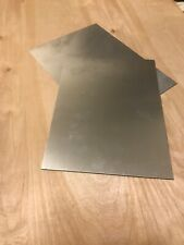 "TWO MILL GRADE ALUMINUM  PLATES - 9""x 12"" x .080 $17.99 SHIP FREE"