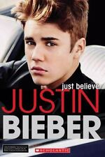 Justin Bieber: Just Believe Hodgin, Molly, Brooks, Riley Paperback