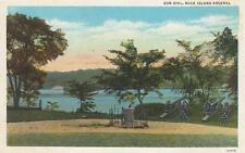 Antique Postcard c1931 Sun Dial Rock Island Arsenal Rock Island, Il 18708