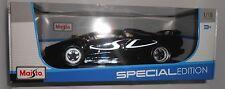 MAISTO Lamborghini Diablo SV Black 1:18 SCALE SPECIAL EDITION NEW