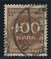 Gestempelte Briefmarken aus dem deutschen Reich mit Arbeitswelt-Branchen