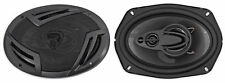 "Pair Rockville RV69.4A 6x9"" 4-Way Car Speakers 1000 Watts/220w RMS CEA Rated"
