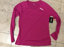 2XU Women's Long sleeve XVent Top pink Large NEW