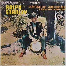 RALPH STANLEY: Something Old, Something New '71 REBEL Bluegrass VINYL LP Rare
