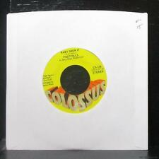 """Festivals - Baby Show It / Take Your Time 7"""" Mint- Vinyl 45 Colossus CS-136 USA"""