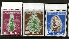 italy 1950 tobacco conference MNH set  SC# 544/546
