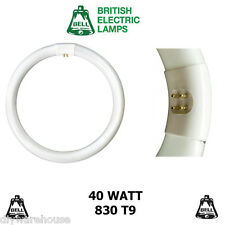 BELL T9 CIRCULAR FLUORESCENT TUBE 22 32 40 60 WATT COLOUR 830 840 G10q BRANDED