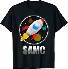 $AMC Go To The Moon - AMC Stock rocket shirt T-Shirt