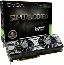EVGA GeForce GTX 1070 SC GAMING 08G-P4-5173-KR ACX 3.0 Black Edition 8GB GDDR5