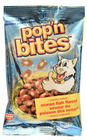 Pop'n Bites for Cats  crunchy texture flavors Ocean Fish USA made 2oz - 6pk