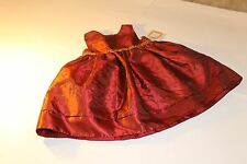 PERFECTLY Dressed NWT Girl 18month Holiday Burgundy Dress