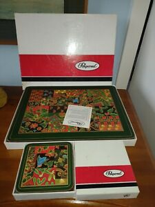 Pimpernel Placemats and matching Coasters Set of 6 of each in box