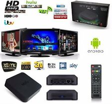 SMART TV BOX Wifi Multimedia Player Media Quad Core INTERNET HDMI 1080P Android