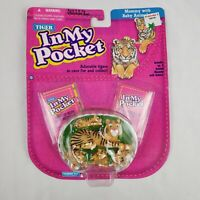 *NEW IN BOX SEALED* Tiger In My Pocket Mommy with Baby Animals Pocket Toys 1994