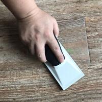 1PC Plastic Sanding Block Dustless Dust Free Dry Grinder Hand Push Plate Werkzeu