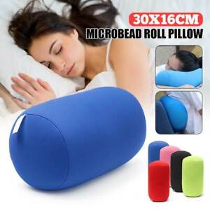 Orthopaedic Travel Bedding Nap Neck Microbead Pillows Head Rest Support 30x16 cm