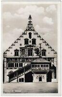 Ansichtskarte Lindau im Bodensee - Blick auf das Rathaus - schwarz/weiß