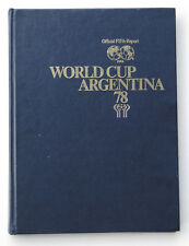 World Cup 1978. Official FIFA-Report Football Soccer