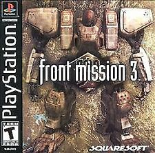 FRONT MISSION 3 PS1 PLAYSTATION 1 DISC ONLY