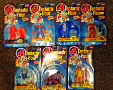 1995 TOY BIZ FANTASTIC FOUR SERIES 2 COMPLETE 7 FIGURE SET THANOS FIRELORD D-15