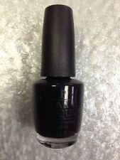 OPI Nail Polish Lacquer Nagellack Color Black Onyx 0.5 oz