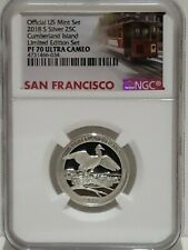 2018 S Silver Cumberland Island Limited Edition Set Proof Quarter NGC PF 70