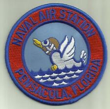 """Naval Air Station Pensacola Florida U.S.Navy Patch 4"""" Sailor Fighter Aircraft"""