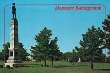 Alamance Battleground State Historical Site, Burlington North Carolina, Postcard