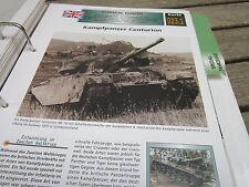 Archiv Militärfahrzeuge schwere Panzer 23.1 Kampfpanzer Centurion England