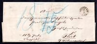 German Early Postal History cover Potsdam CDS WS11406
