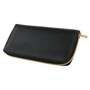 Hair Barber Scissors Comb Storage Pouch Bag Hairdressing Holder Leather Case