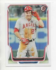 2014 Bowman MIKE TROUT - ANGELS - #168 QTY AVAILABLE