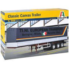 ITALERI Canvas Trailer 3908 1:24 Model Kit