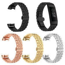 Fitbit Charge 3 Bracelet Steel Wristband Strap For Smart Watch Strap Band Metal