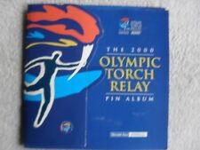 Sport 2000 Sydney OlympicsHerald Sun Olympic Torch Relay pins album complete