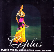 COPLAS - MARIA VIDAL, CHARO REINA Y DIEGO BENJUMEA CD ALBUM SEALED SPAIN