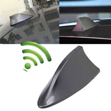Universal Car Shark Fin Roof Antenna Aerial FM/AM Grey with Radio Signal Decor