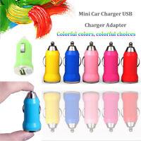 UNIVERSAL MINI USB CHARGER 12V Adapter SOCKET CAR CIGAR LIGHTER PHONE SATNAV