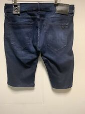 True Religion Rocco Relaxed Skinny Fit Denim Shorts W33