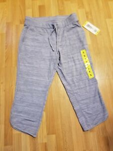 32 DEGREES WORKOUT CAPRIS WOMEN'S SIZE SMALL GRAY BRAND NEW