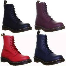 Dr. Martens Block Heel 100% Leather Boots for Women