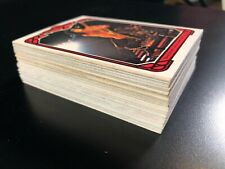 1978 Kiss Trading Cards Complete Set #1-#66 Aucoin Very Good Condition