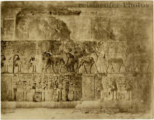 Thebes, Interior of the King's Grave by Zangaki, Orig. Photo, ca. 1900