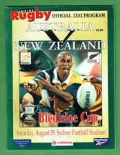 #Kk. Rugby Union Program - 29/8 1998, New Zealand V Australia Bledisloe Cup