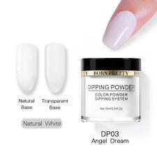 BORN PRETTY Dip Powder Nails Gel Polish Acrylic Colors Designs Natural Manicure