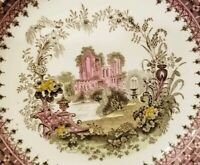 "VINTAGE  Victorian   MINTON  ""The Gem""  9"" PLATE  from 1890 ?  Minton's NYC ?"