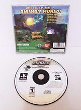 Digimon World für PS1/PS2 NTSC-Bandai