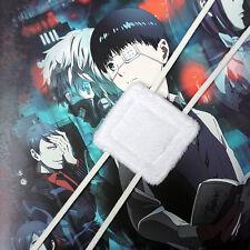 Anime Tokyo Ghoul Kaneki Blinder White Eye Patch Single-Eyed Mask Cosplayevs